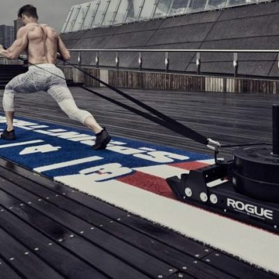 Kunstgras fitness crossfit