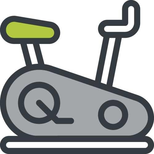 kunstgras fitness icoon