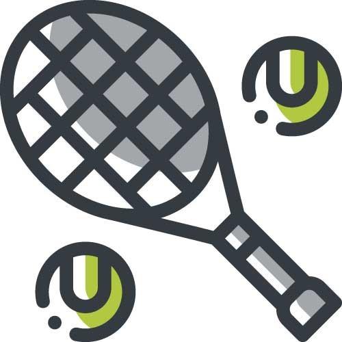 tennis icoon
