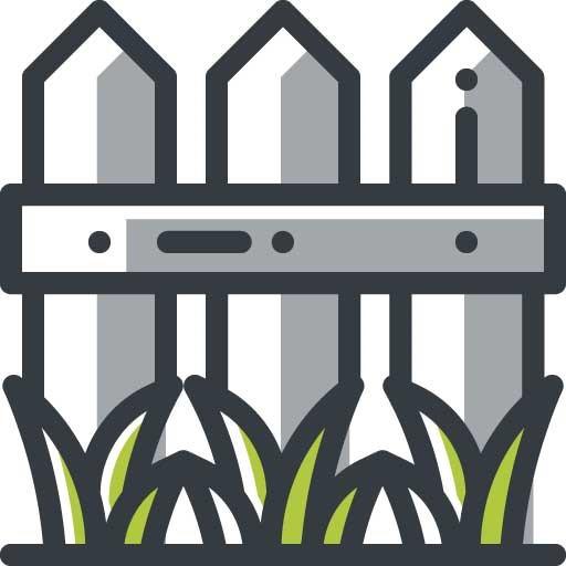 kunstgras tuin icoon
