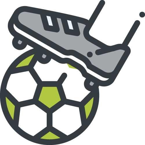 voetbal icoon