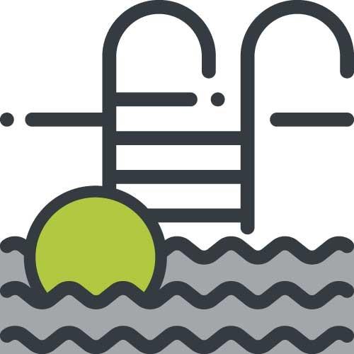zwembad icoon