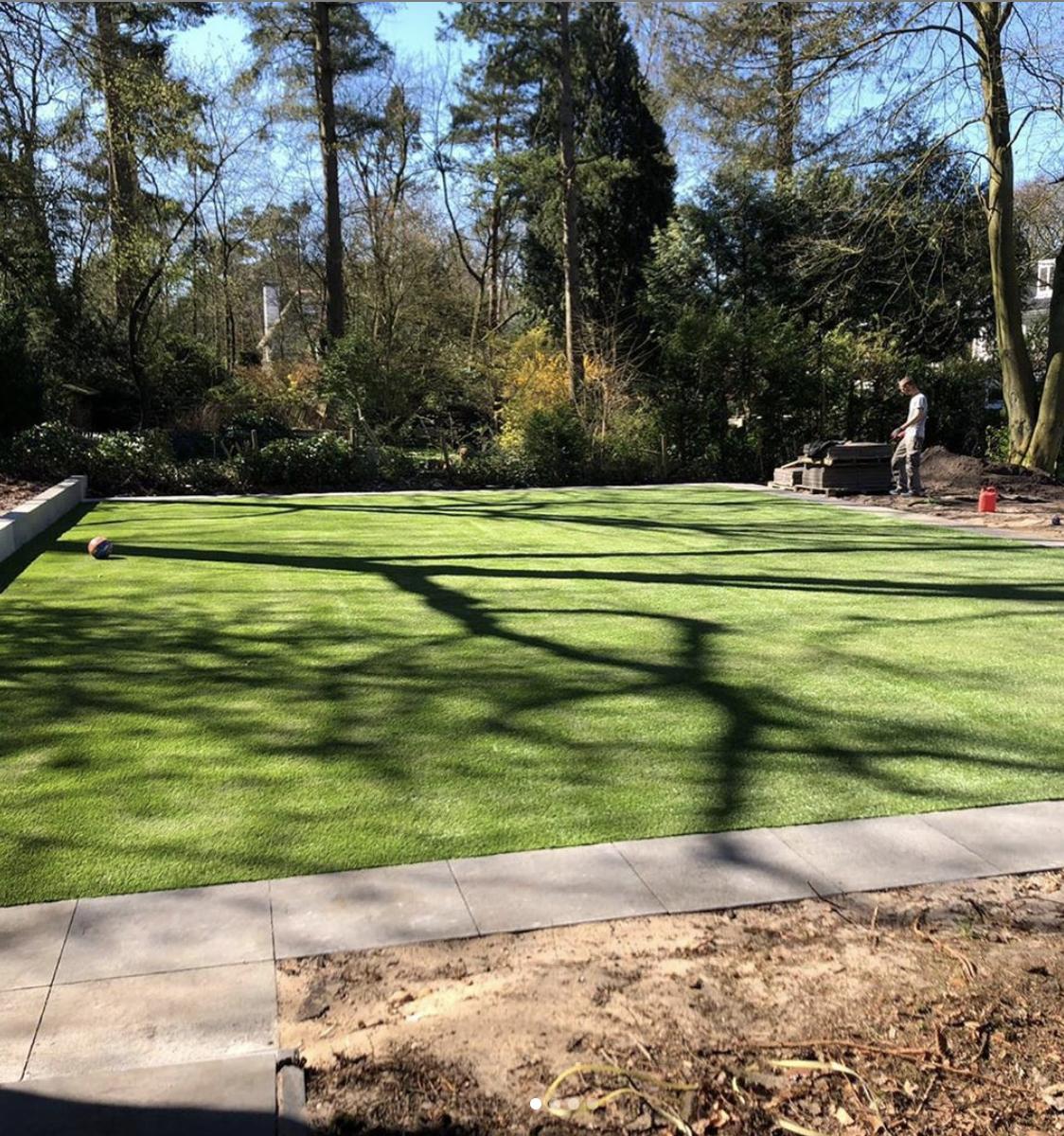 Prijs kunstgras tuin