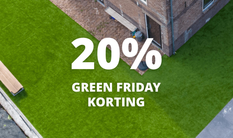 green friday korting